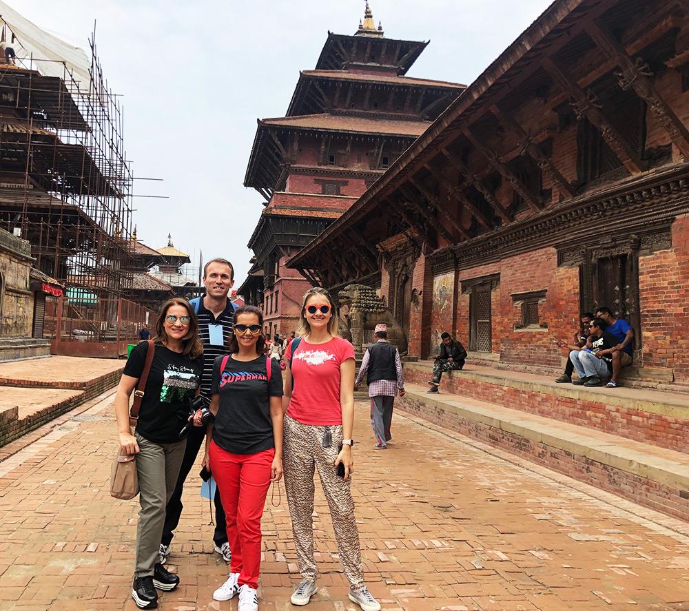 Kathmandu tour by Turkish people