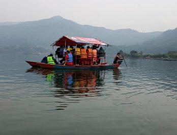 Fewa Lake Boating Pokhara