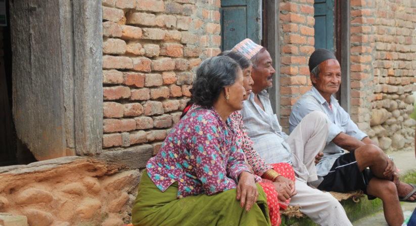 local village people