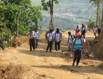 hiking around kathmandu