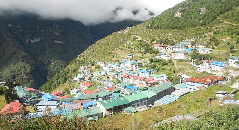 Namche Bazaar, Capital of Sherpa Community