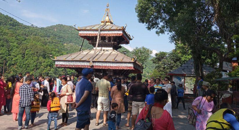 Talbarahi Temple Fewalake Pokhara