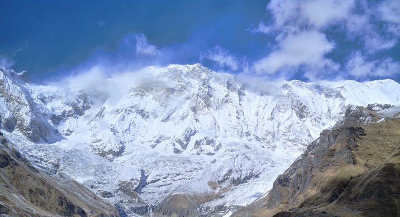 Annapurna Mountain views from Base Camp