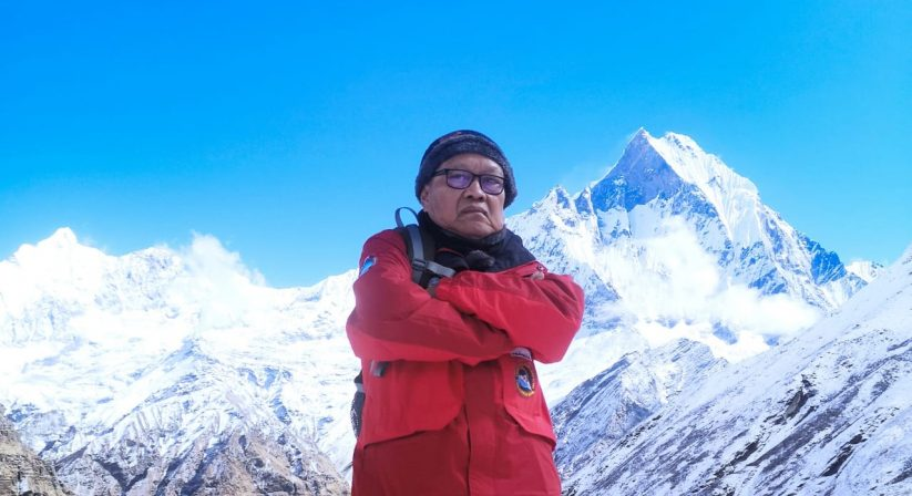 At Annapurna Base Camp, Helicopter Trip