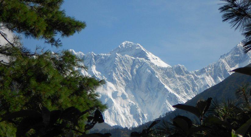 Mt. Everest view