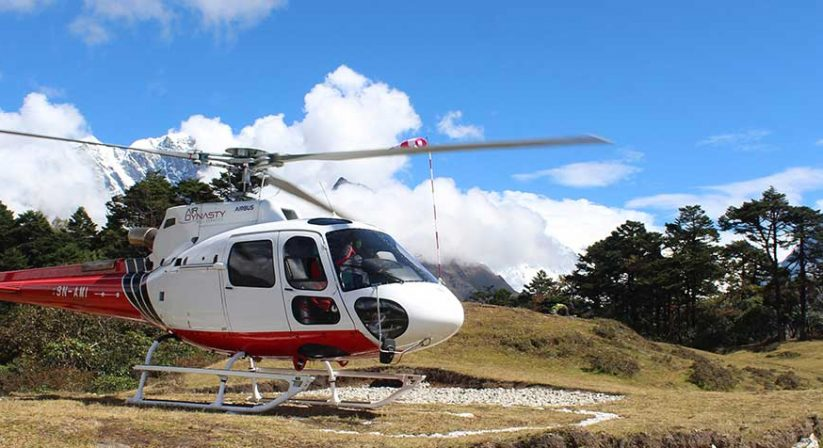 helicopter-at-everest-view-hotel