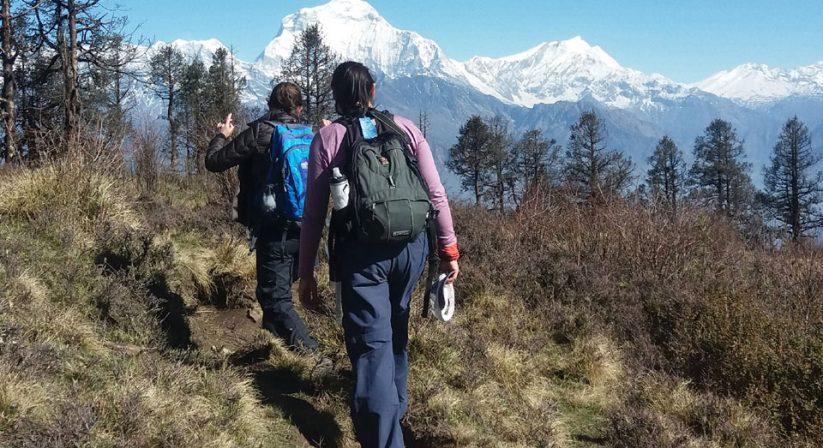 During Trekking of Ghorepani