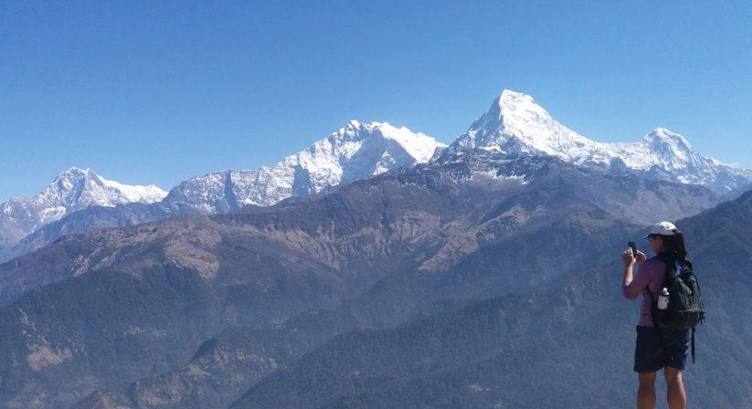 Viewpoint at Ghorepani