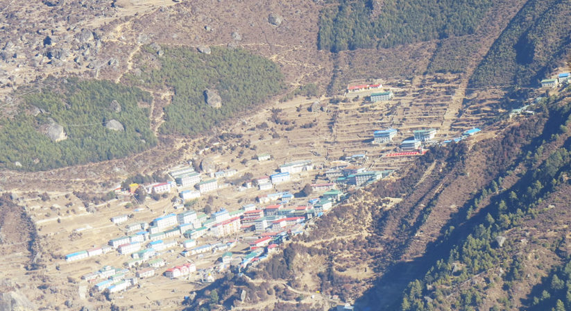 views-of-sherpa-village-from-plane