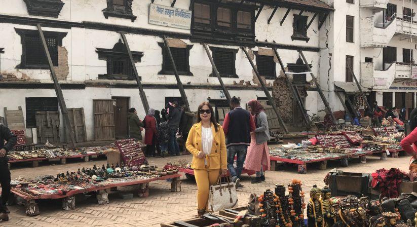 Souvenirs while touring kathmandu