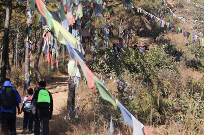 Hiking near hattiban resort