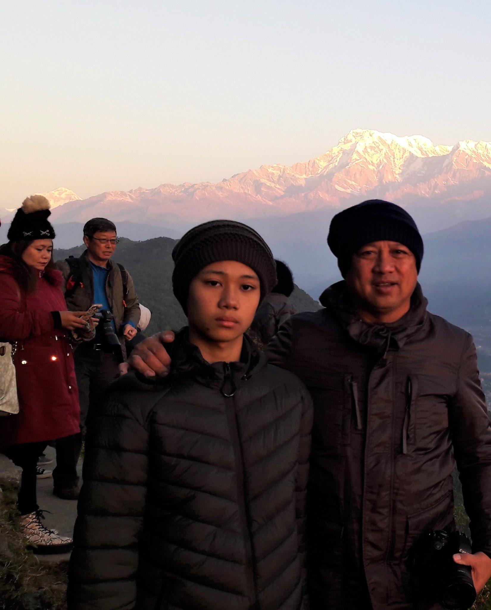 Sarankot Sunrise, Pokhara